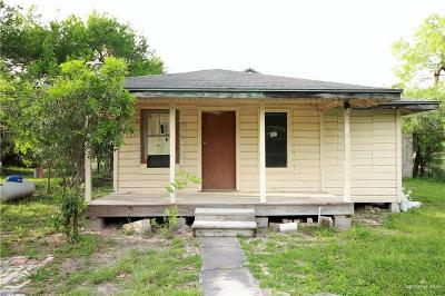 Cameron County Single Family Home For Sale: 313 Retamosa Avenue