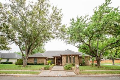 Pharr Single Family Home For Sale: 1300 E Pine Avenue
