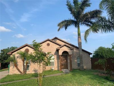 Pharr Single Family Home For Sale: 1208 E Nell Pool Drive