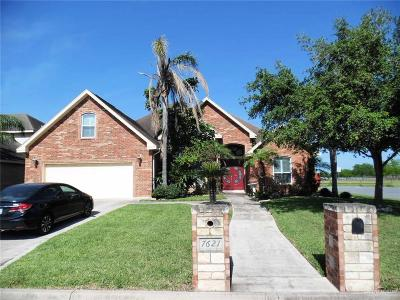 McAllen Single Family Home For Sale: 7621 N 33rd Street
