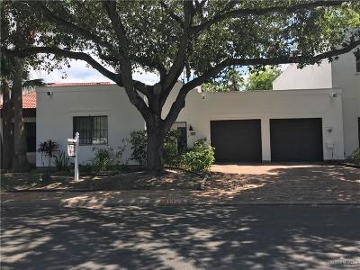 McAllen TX Condo/Townhouse For Sale: $171,000