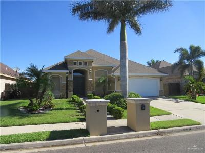 McAllen TX Single Family Home For Sale: $239,900