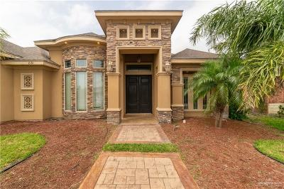 McAllen TX Single Family Home For Sale: $265,000