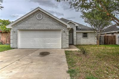 Edinburg Single Family Home For Sale: 3805 Frontier Drive