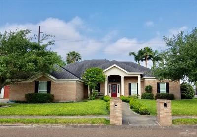 Weslaco Single Family Home For Sale: 809 Amethyst Drive