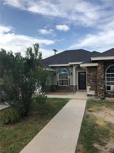 Weslaco Single Family Home For Sale: 2502 Tahoe Street