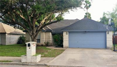 McAllen Single Family Home For Sale: 3909 Nightingale Avenue
