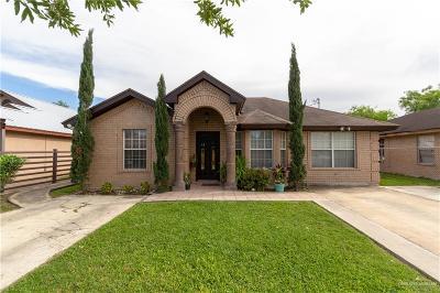 Pharr Single Family Home For Sale: 7104 E Comet Drive