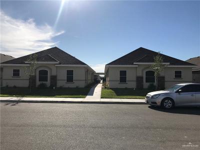 Edinburg Multi Family Home For Sale: 511 Newport Avenue