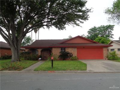 McAllen Single Family Home For Sale: 1505 Goldcrest Avenue