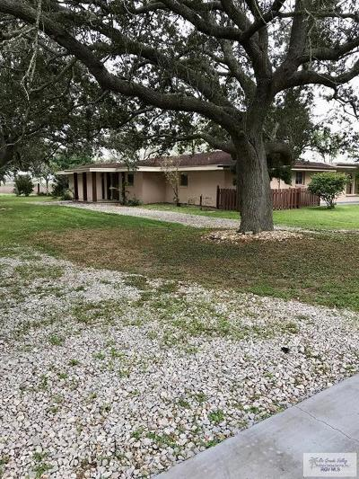 Cameron County Single Family Home For Sale: 30754 Fm 106