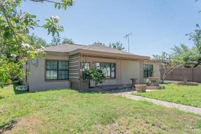 Edinburg Single Family Home For Sale: 104 N 28th Avenue