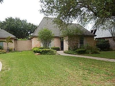 McAllen Single Family Home For Sale: 505 E Newport Lane