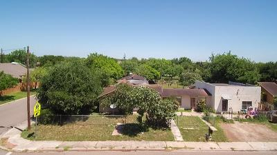 Edinburg Single Family Home For Sale: 703 E Lovett Street