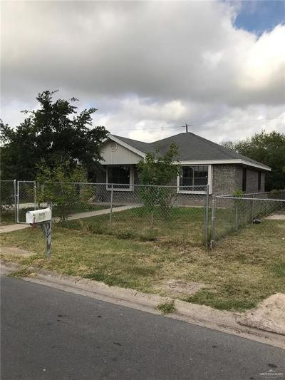 McAllen Single Family Home For Sale: 2236 S 26th Street