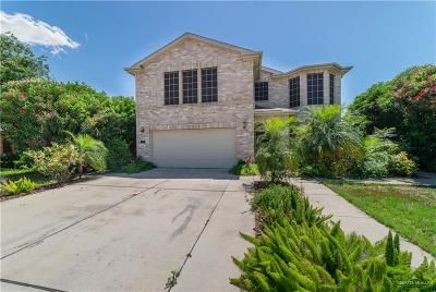 Edinburg Single Family Home For Sale: 3806 Wolf Drive