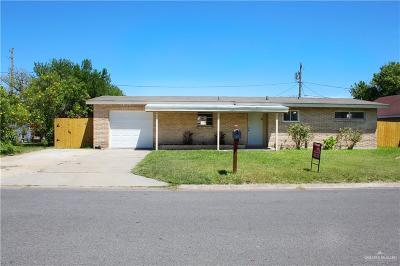 McAllen Single Family Home For Sale: 2008 N 17th Street