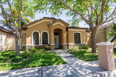 McAllen TX Single Family Home For Sale: $200,000