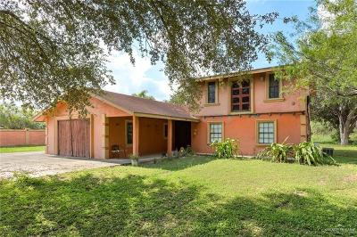 Edinburg Single Family Home For Sale: 6503 N Doolittle Road