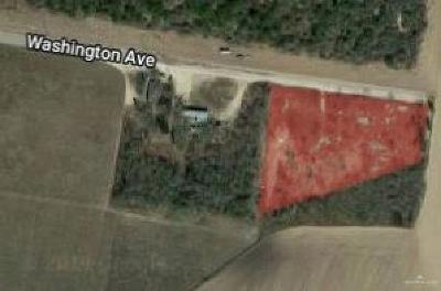 Edinburg Residential Lots & Land For Sale: Washington Avenue