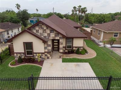 Pharr Single Family Home For Sale: 301 N Hibiscus Street
