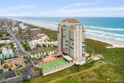 South Padre Island TX Condo/Townhouse For Sale: $649,000
