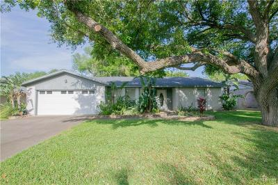 Harlingen Single Family Home For Sale: 1600 E Palm Valley Drive
