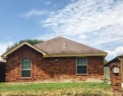 Edinburg Single Family Home For Sale: 1917 Ash Circle