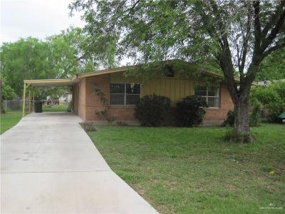 Weslaco Single Family Home For Sale: 508 W 11th Street