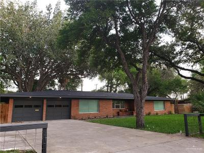 McAllen Single Family Home For Sale: 825 S McColl Road