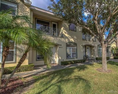 McAllen Condo/Townhouse For Sale: 800 Sunset Drive #C21