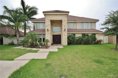 McAllen Single Family Home For Sale: 6109 N 3rd Street