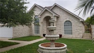 Pharr Single Family Home For Sale: 912 Regal Drive