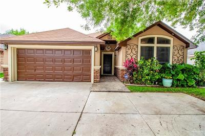 McAllen TX Single Family Home For Sale: $175,000