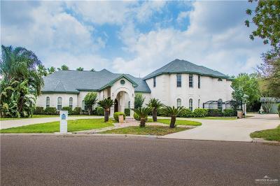 Edinburg Single Family Home For Sale: 2601 Lakeshore Drive