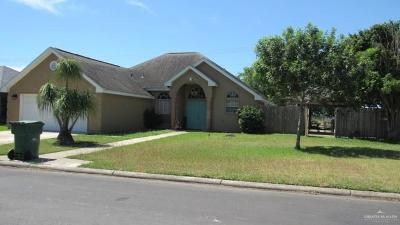Pharr Single Family Home For Sale: 326 E Ashley Drive
