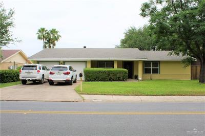 McAllen Single Family Home For Sale: 5101 N 16th Street