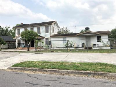 Harlingen Single Family Home For Sale: 610 E Polk Street