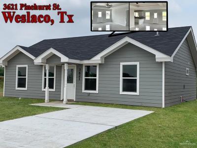 Weslaco Single Family Home For Sale: 3621 Pinehurst Street
