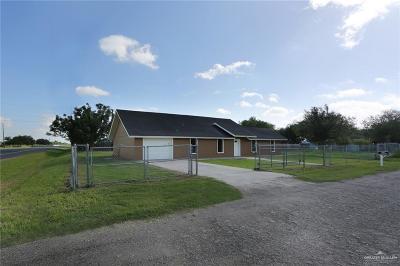 Edinburg Single Family Home For Sale: 13334 N Beech Street