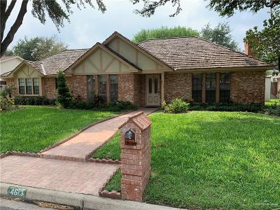 McAllen Single Family Home For Sale: 4613 N 8th Street