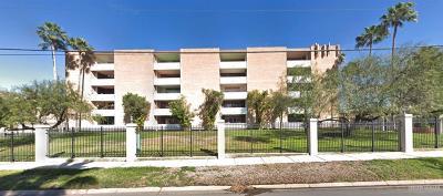 McAllen Condo/Townhouse For Sale: 600 Wichita Avenue #407