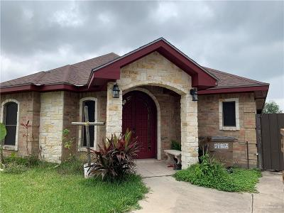 Edinburg Single Family Home For Sale: 1424 Eva Drive