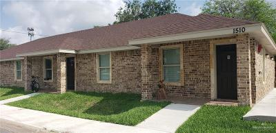 McAllen Multi Family Home For Sale: 1510 Ithaca Avenue