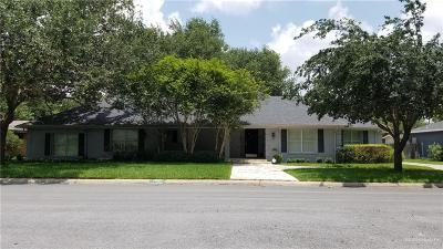 McAllen Single Family Home For Sale: 1212 W Westway Avenue