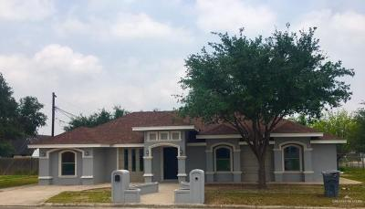 Edinburg Single Family Home For Sale: 2312 El Dorado
