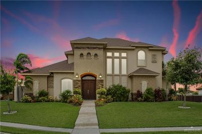 Edinburg Single Family Home For Sale: 13407 N 37th Lane