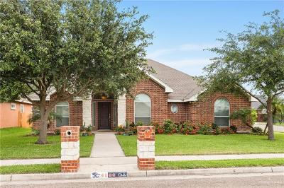 McAllen TX Single Family Home For Sale: $183,900