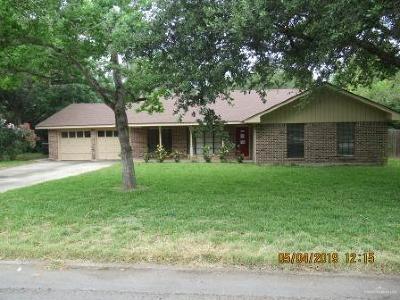 Harlingen Single Family Home For Sale: 2609 Lotus Street