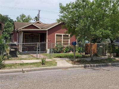 Weslaco Single Family Home For Sale: 109 N Kansas Avenue